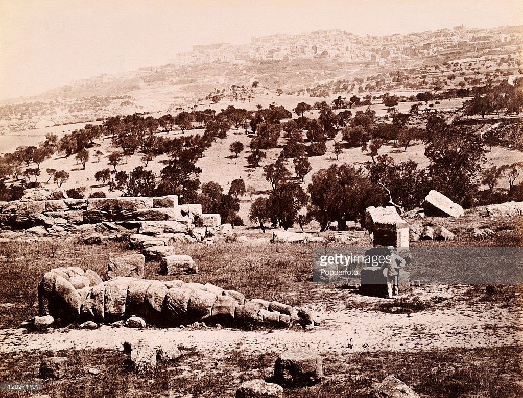 Straordinari Panorami di Agrigento di diverse epoche. Fotogalleria