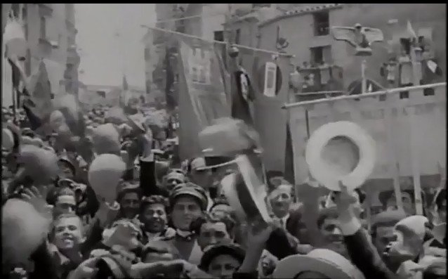 Mussolini ad Agrigento e in Sicilia nel 1924.Video