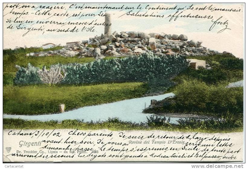 Antichità di Agrigento. Il tempio di Ercole