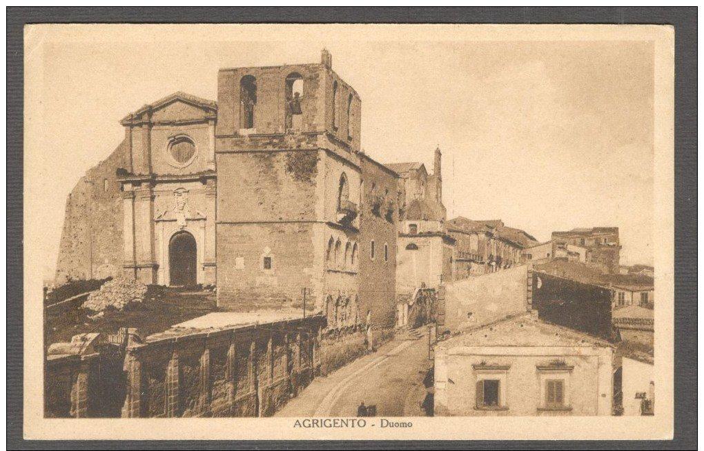 La Cattedrale di Agrigento tutte le frane che l'hanno ferita