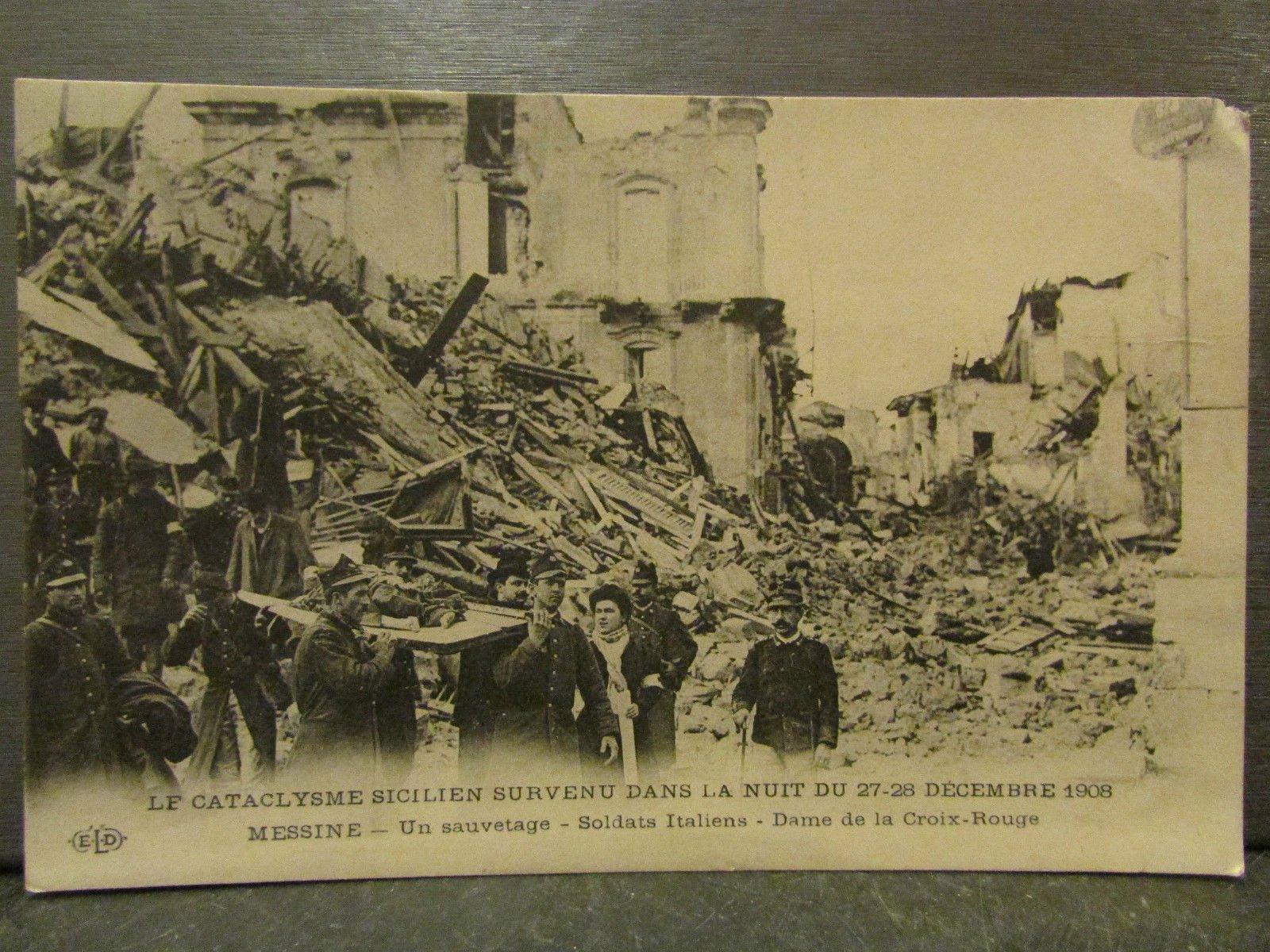 Il Terremoto di Messina del 1908. Fotogalleria