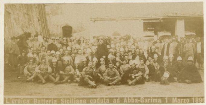 """La """"missione di salvezza"""" dei martiri  delle batterie siciliane nella battaglia di Abba Garima in Etiopia"""