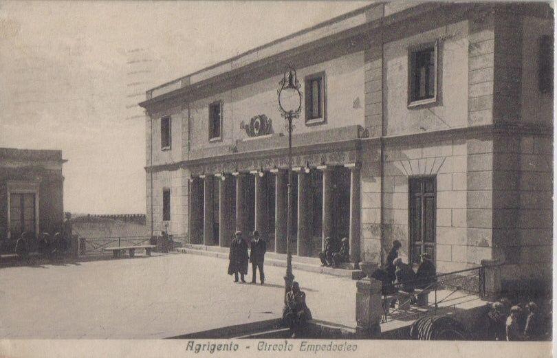 Celebri ospiti al circolo empedocleo di Agrigento