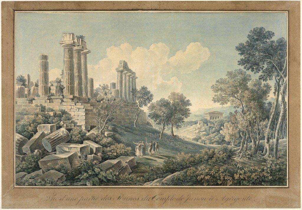 Bence, Jacques Martin Sylvestre tempio di giunone