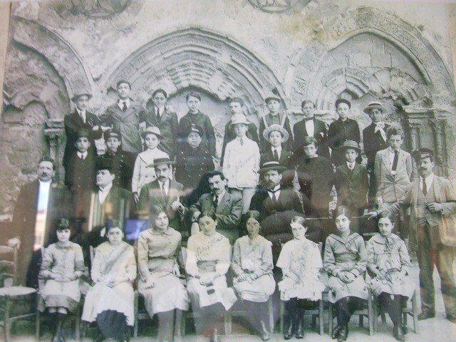 studenti e docenti del liceo classico di agrigento nei primi anni del novecento
