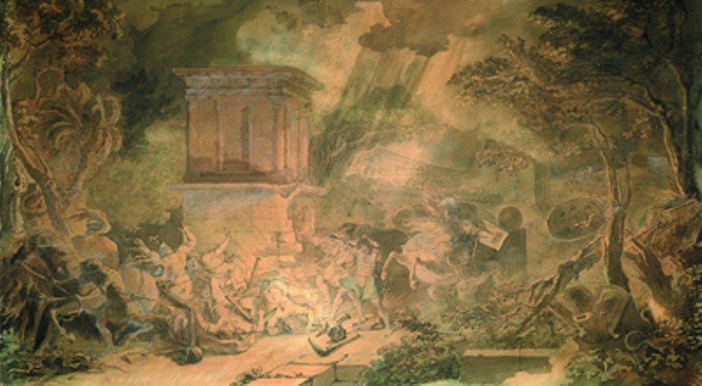 Terrore nella Valle dei Templi: le ombre dei morti escono dalla tomba di Terone e diffondono la peste