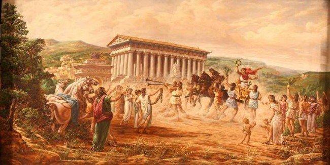 Tradizioni sportive nell'antica Akragas