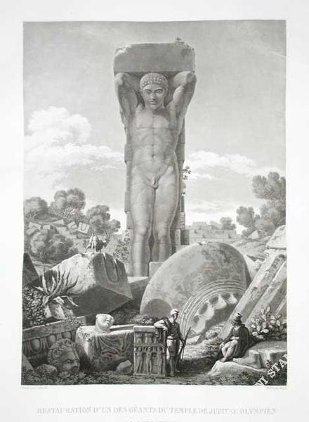 GIGAULT DE LA SALLE restauration-geants-temple-jupiter-olympien