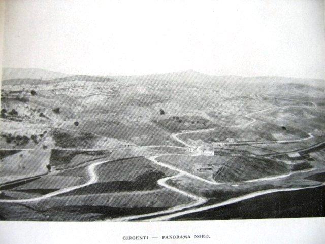 panorama delle terre attorno a Girgenti