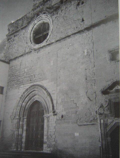 portale chiaramontano chiesa santo spirito agrigento