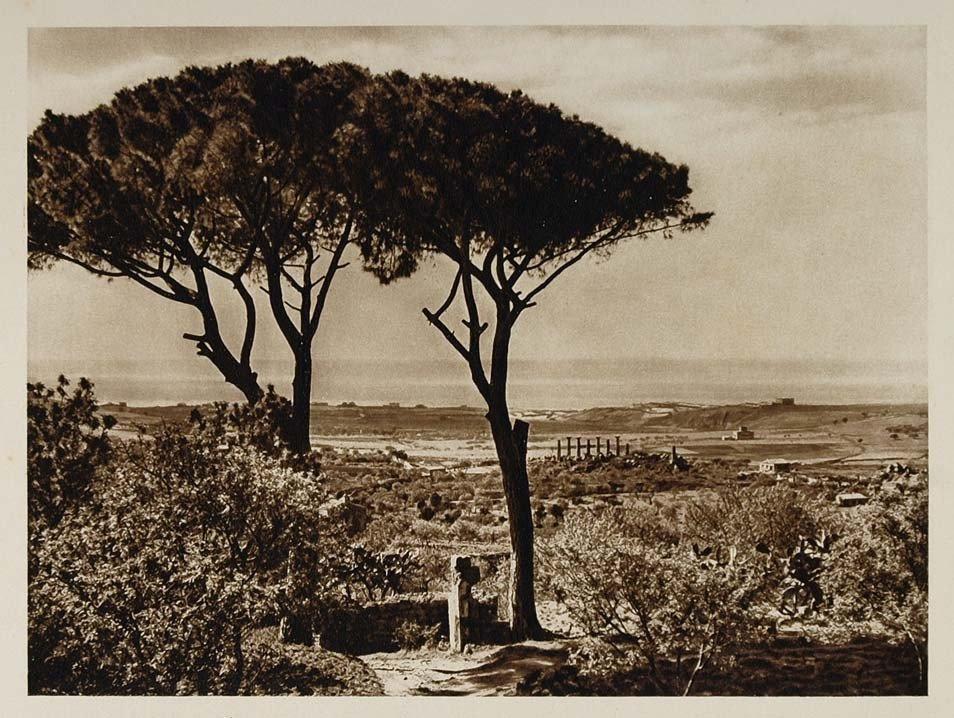 Agrigento nel 1898: arriva nella Valle dei Templi il  fondatore del Touring Club Luigi Vittorio Bertarelli