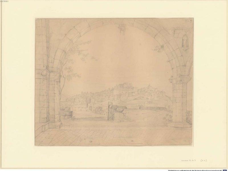 Klenze, Leo von und Rottmann, Carl-Blick auf Agrigent