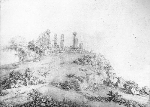 Viaggio ad Agrigento di un giovane antiquario nel 1825