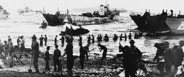 Le truppe alleate invadono Licata.Video