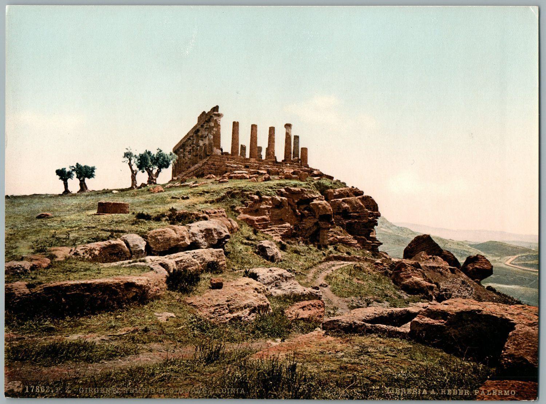 Le antichità di Agrigento. Il tempio di Giunone