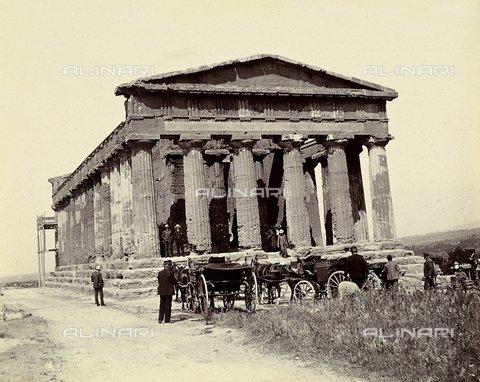 Tempio della Concordia a Girgenti (Agrigento), 1910 ca