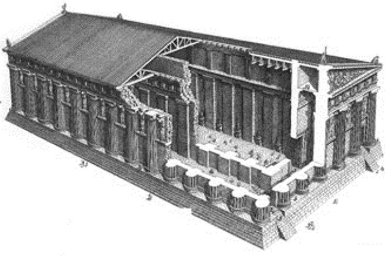 Ipotesi e polemiche intorno al tempio di Giove ad Agrigento