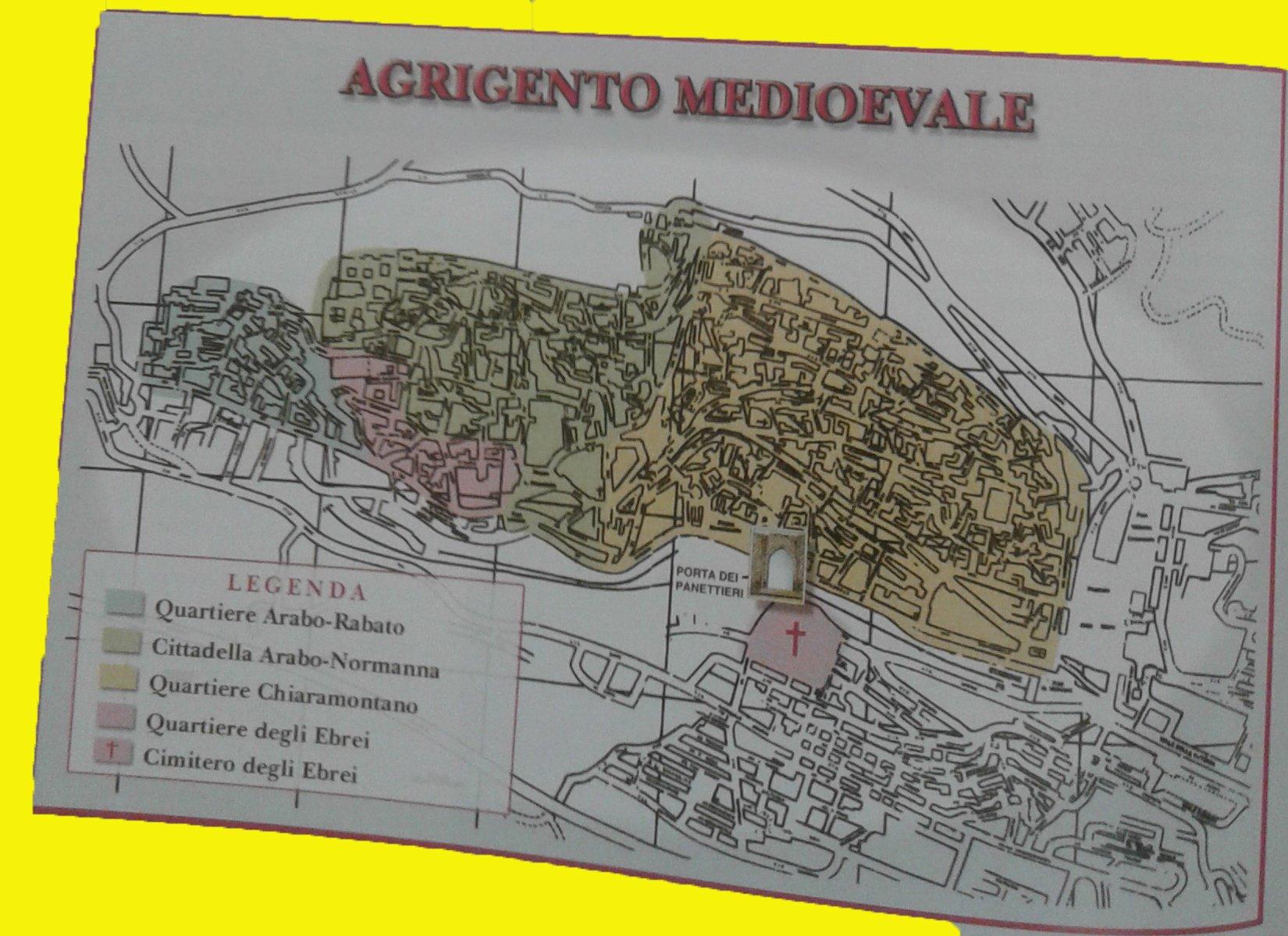 Ebrei di Agrigento: la storia della loro presenza nel territorio