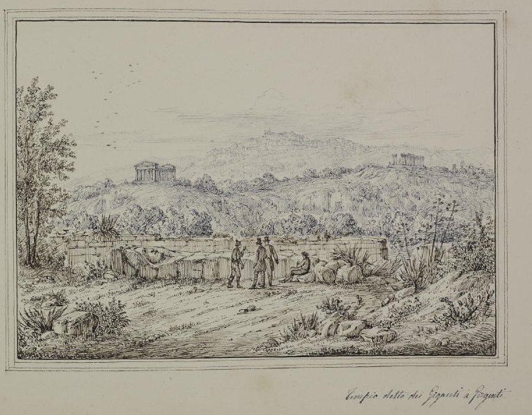 antonio-senape tempio di giove 1818