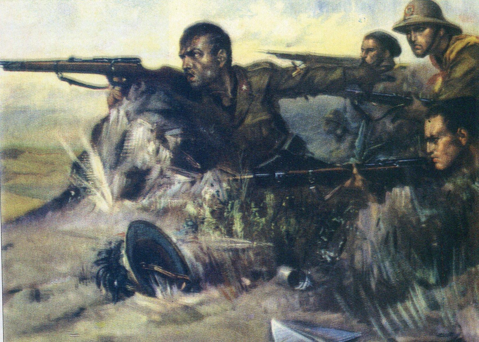L'eroica resistenza dei ragazzi italiani a Bir El Gobi nella battaglia della Marmarica