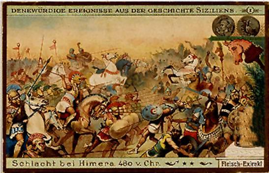 Storia di Akragas La Battaglia di Himera