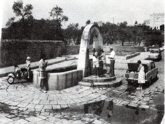 Agrigento la vecchia fontana di Bonamorone