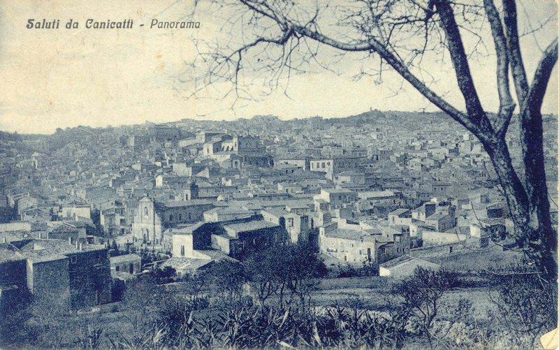 canicattì panorama 1931