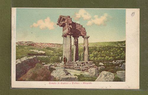 Il tempio dei Dioscuri ad Agrigento. Fotogalleria