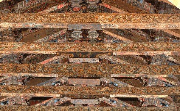 Sui soffitti lignei decorati esistenti in sicilia for Soffitto della cattedrale di legno