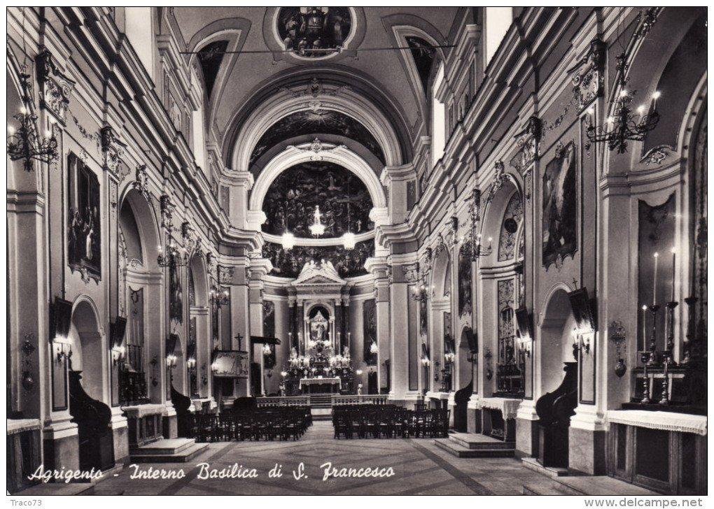 Agrigento la Chiesa di San Francesco