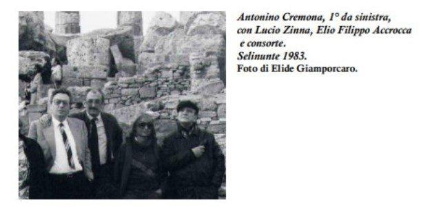 Antonino Cremona poeta e autore teatrale agrigentino