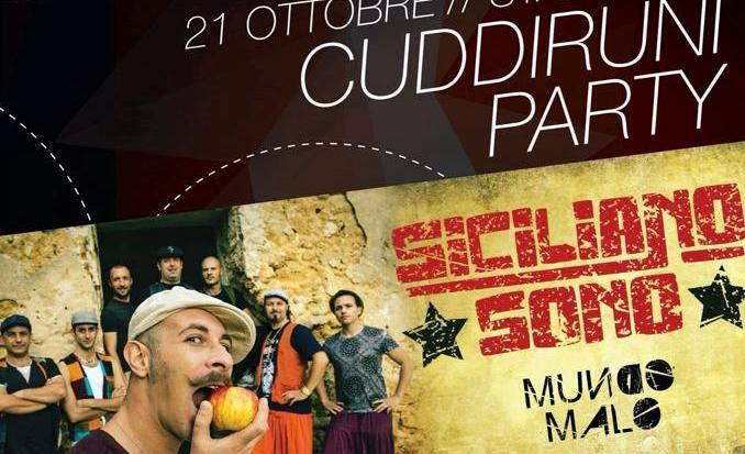 Cuddiruni Party a Siculiana, Venerdì 21 ottobre
