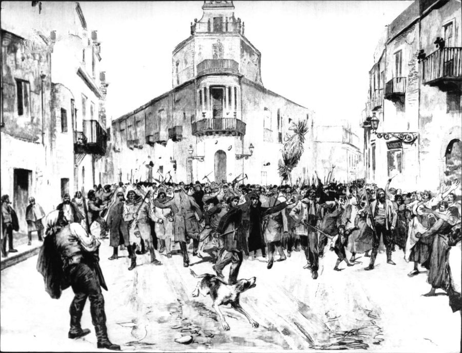I Fasci siciliani ad Agrigento