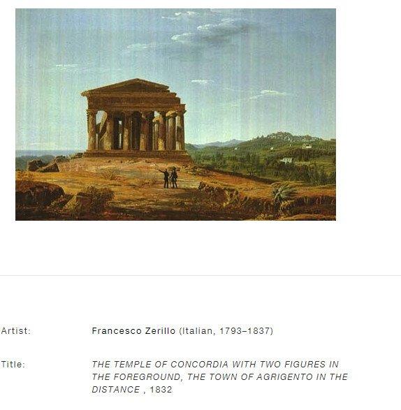 franco zerillo tempio della concordia