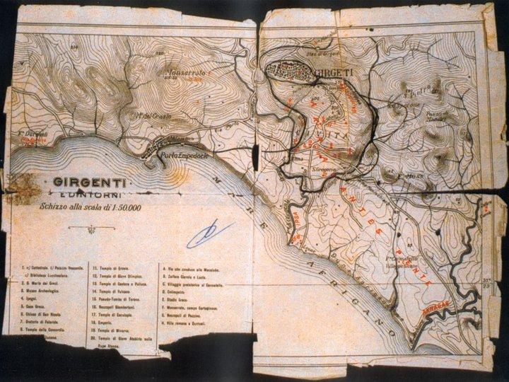 Topografia di Girgenti 1838