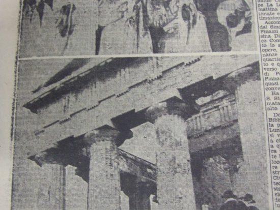 agrigento sagra del mandorlo giornale di sicilia 13 febbraio 1952