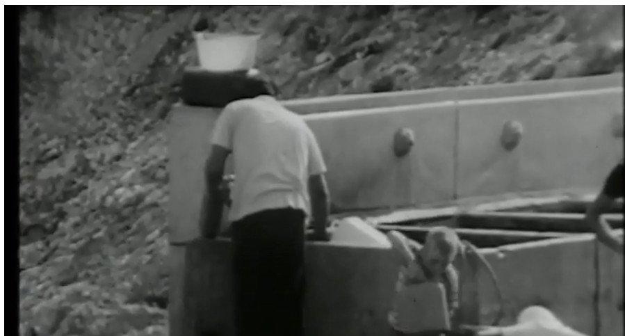 Leonardo Sciascia racconta la grande sete della provincia di Agrigento negli anni Sessanta.Video