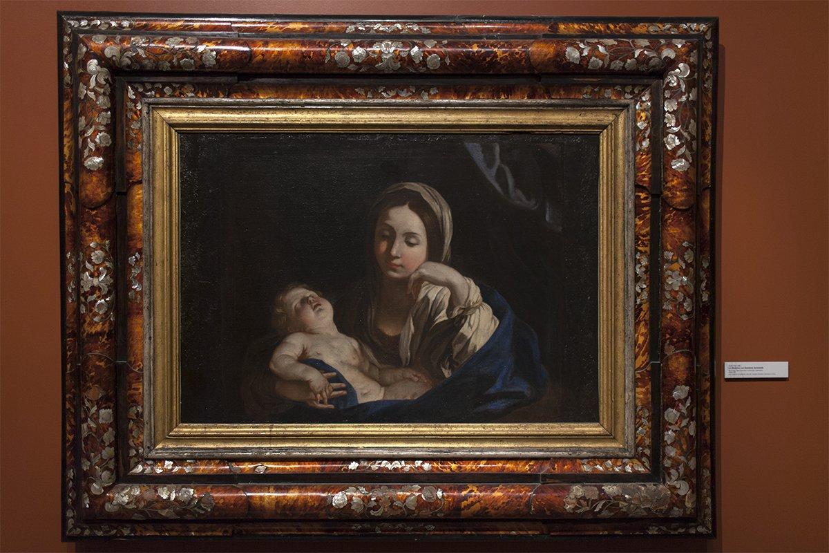 La Cattedrale di Agrigento, la Madonna col Bambino di Guido Reni