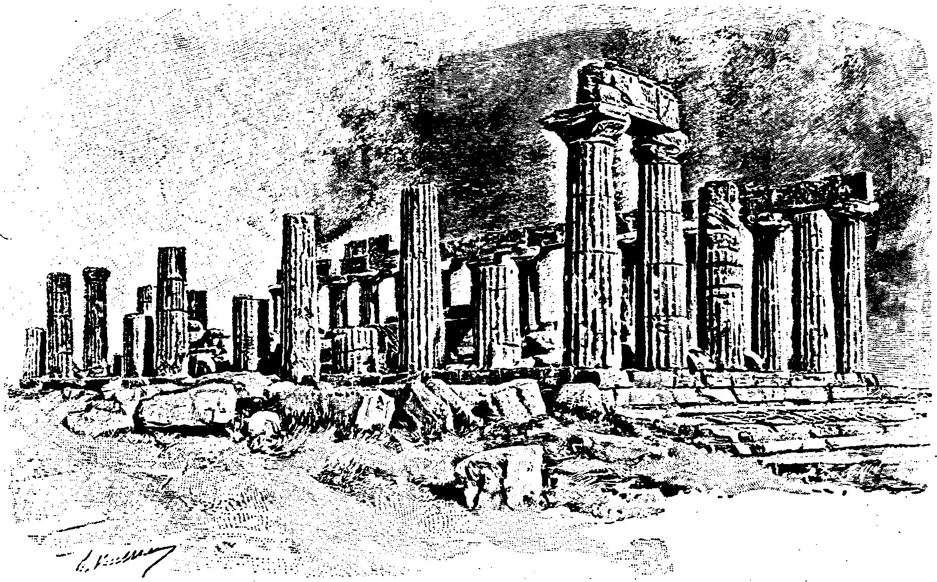 I templi di Giunone e di Ercole di Agrigento nel racconto di Gustavo Chiesi (1892)