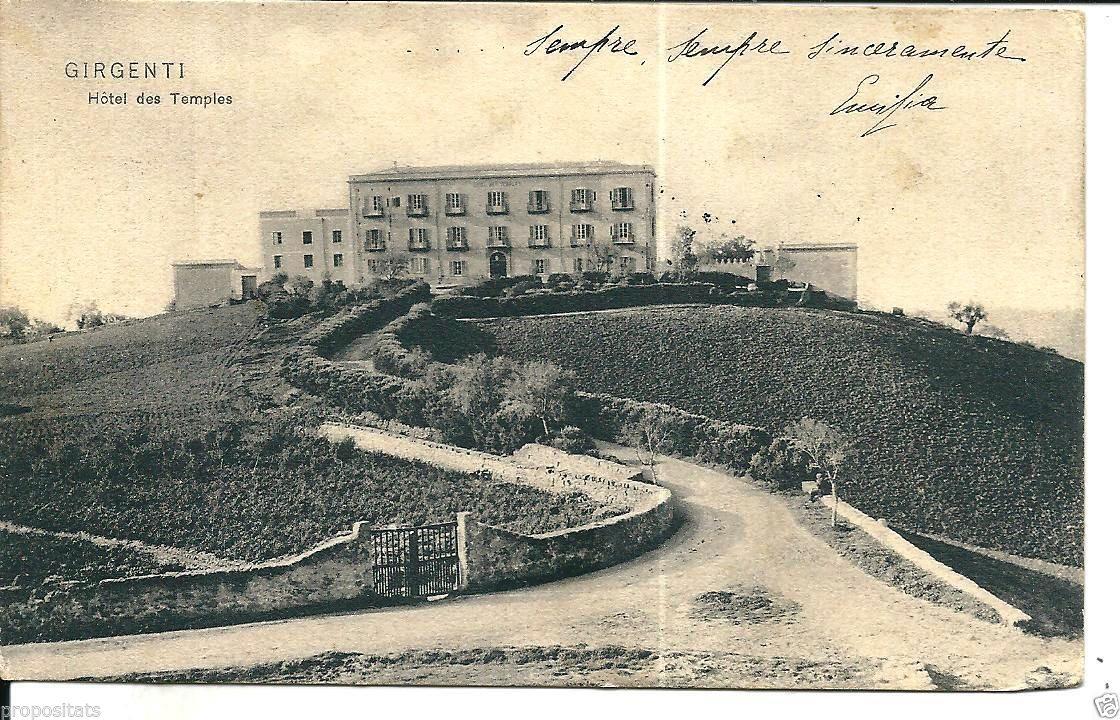 Le origini dell'Hotel des Temples di Agrigento