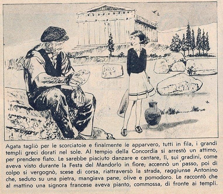 Il Treno del Sole: il fumetto del Corriere dei Piccoli con le avventure di una ragazza di Agrigento