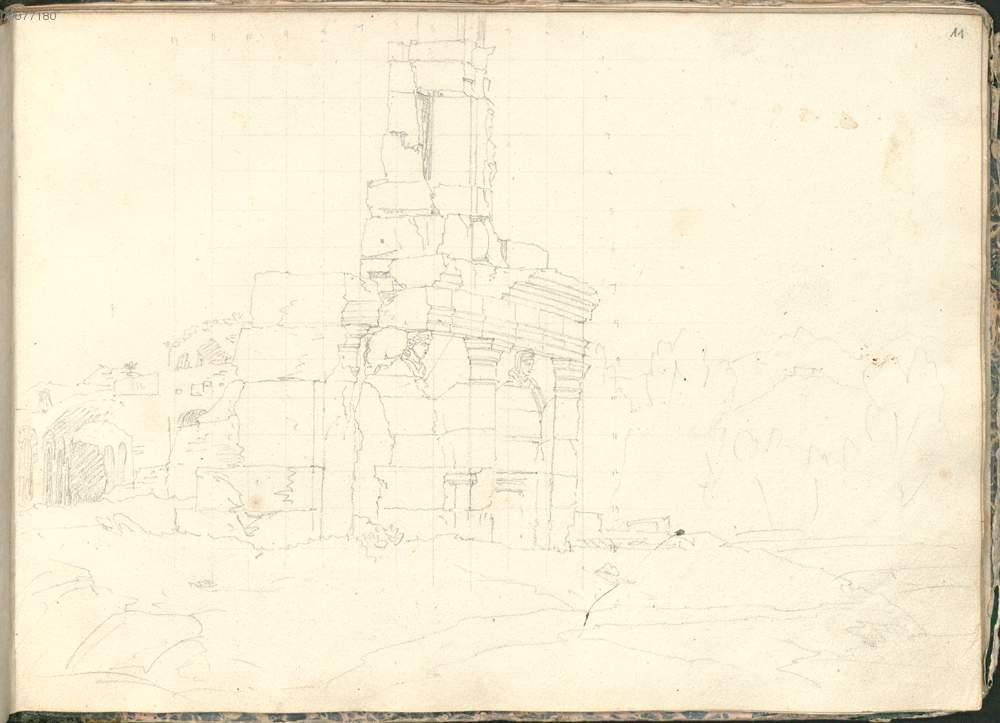 Agrigento, i disegni di Leon von Klenze. Fotogalleria
