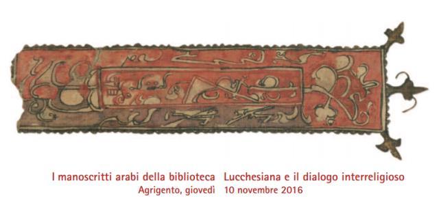 Ad Agrigento un convegno sui manoscritti arabi della Lucchesiana