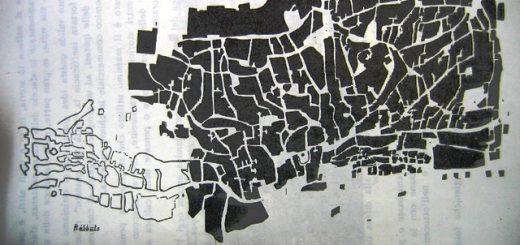 mappa di girgenti del 1823