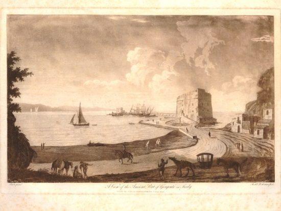 molo di girgenti 1793 conservato al british museum