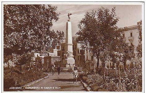 monumento ai caduti agrigento