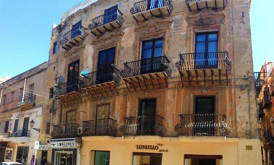 Il Palazzo Celauro in via Atenea ad Agrigento