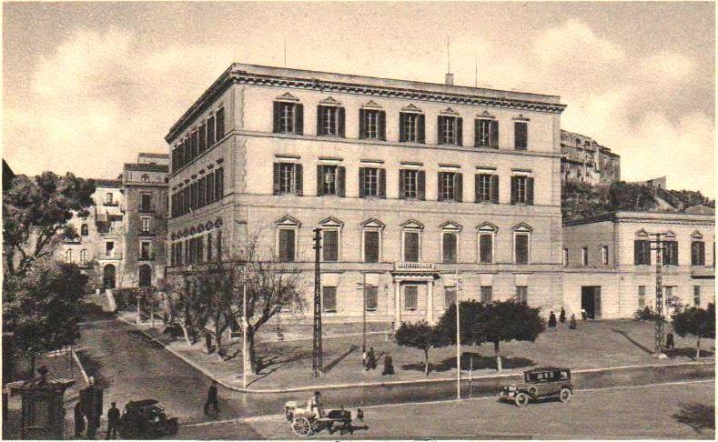 Agrigento, il Palazzo della Provincia e della Prefettura. Fotogalleria