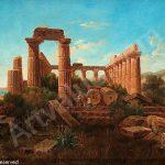 palm-gustaf-wilhelm-1810-1890-vue-af-ruinerna-af-junos-tempe