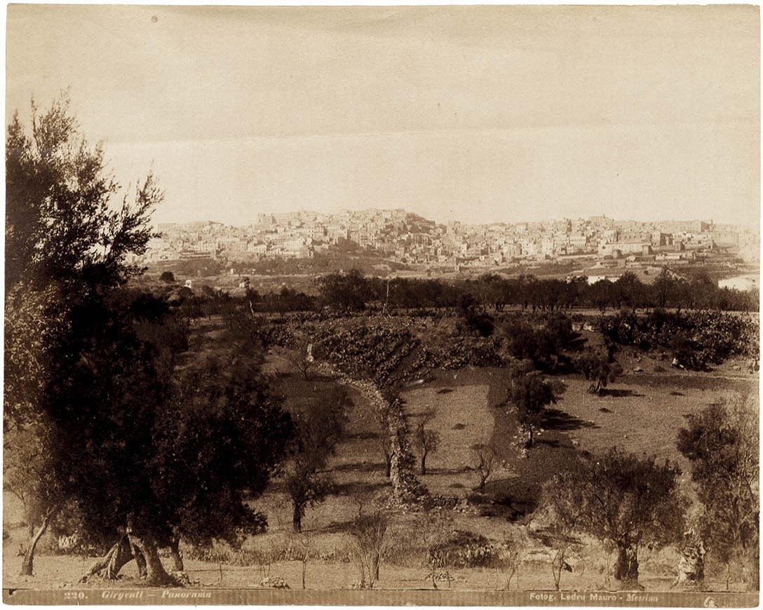 panorama di girgenti
